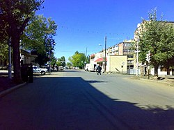The centre of Tashir