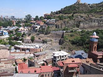 Azerbaijanis in Georgia - View on the Azerbaijani quarter, Tbilisi