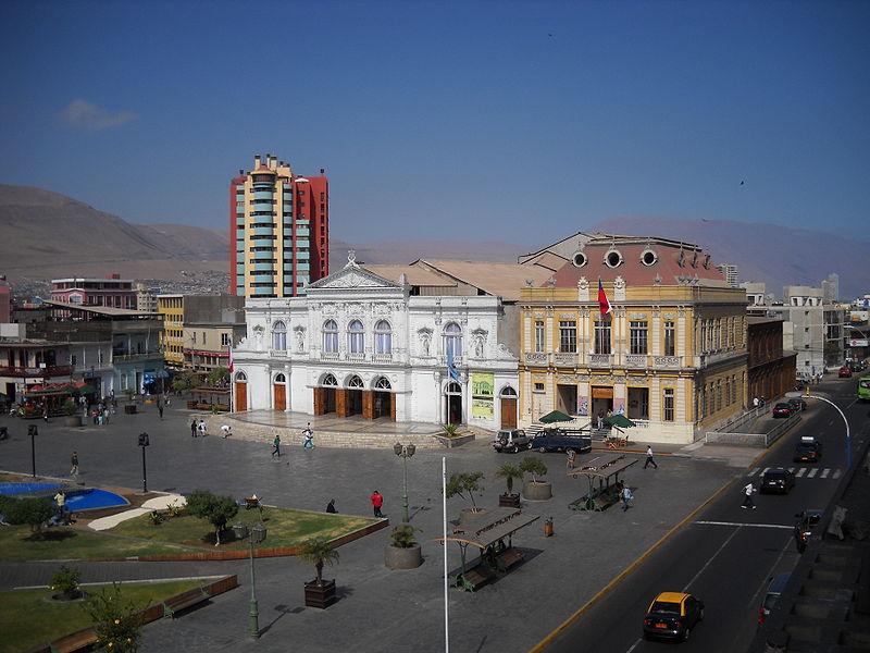 File:Teatro Municipal y edificio Protectora - Iquique.JPG