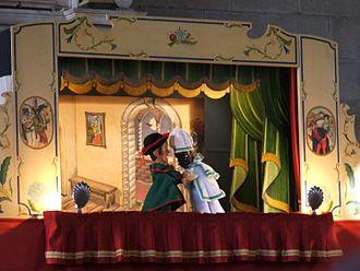 Puppetry - Image: Teatro dei burattini