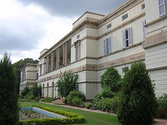 Nehru Memorial Museum & Library - Teen Murti Bhavan, where the library functioned from 1966 to 1974