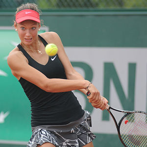 Tereza Mihalíková - Tereza Mihalíková at the 2014 French Open