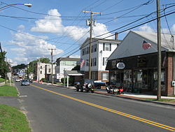 Main Street (U.S. Route 6) in Terryville