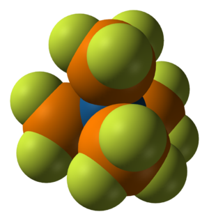 3d phosphorus atom model