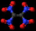 Tetranitroethene molecule ball.png