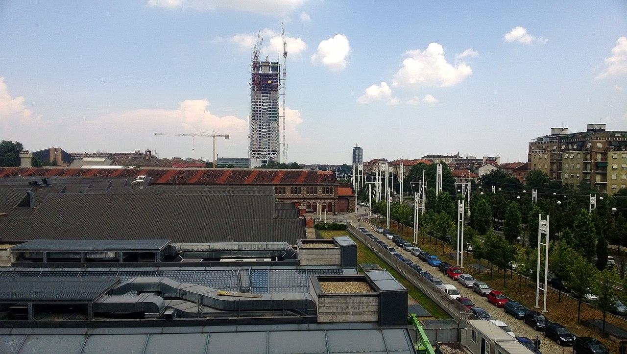 File tetti di corso castelfidardo e grattacielo in for Corso arredatore d interni torino