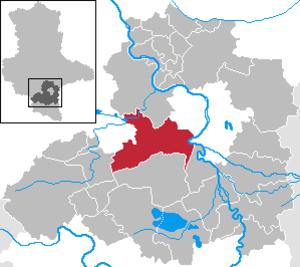 Teutschenthal - Image: Teutschenthal in SK