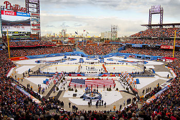 NHL outdoor games. From Wikipedia ... ba159eddd