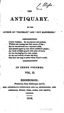 The Antiquary (1816) Vol 2.djvu