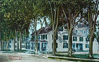 Harrison, Maine - Image: The Elms Inn, Harrison, ME