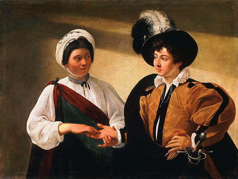 Ficheiro:The Fortune Teller-Caravaggio (Louvre).jpg