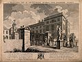 The Foundling Hospital, Holborn, London; a perspective view Wellcome V0013443.jpg