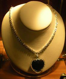 Il Cuore dell'Oceano, il gioiello utilizzato nel film