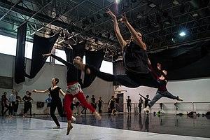 Israel Ballet - The Israel Ballet repetition backstage