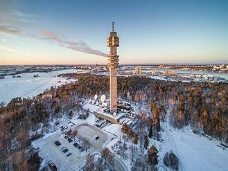 Kaknästornet - Image: The Kaknäs Tower, Rootsi 2016 jaanuar