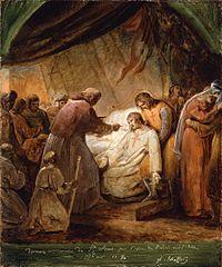 The Last Communion of Saint Louis