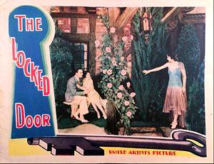 The Locked Door - Lobby card