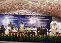 The Minister for Civil Aviation, Shri Praful Patel addressing the gathering at the foundation stone laying ceremony for New Integrated Terminal Building at Madurai Airport in Madurai, on April 26, 2008.jpg