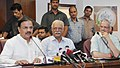 The Minister of State for Culture (Independent Charge), Tourism (Independent Charge) and Civil Aviation, Dr. Mahesh Sharma addressing a press conference on 'Passenger Centric Initiatives', in New Delhi.jpg