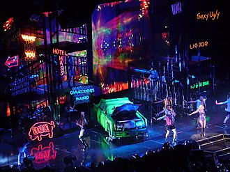 The Monster Ball Tour - Image: The Monster Ball Tour City Scene