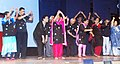 "The Parkinson's patients suffering from Alzheimer's performing dance, at the ""Worlds Parkinson's Day Celebration"", organised by the Parkinson's Disease & Movement Disorder Society, in Mumbai on April 11, 2016.jpg"