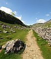 The Pennine Way north of Malham Cove - geograph.org.uk - 1355330.jpg