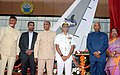 The President, Shri Ram Nath Kovind inaugurated the Aircraft Museum at Beach Road, at Visakhapatnam, in Andhra Pradesh.jpg