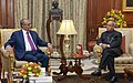 The President of the People's Republic of Bangladesh, Mr. Abdul Hamid calling on the President, Shri Pranab Mukherjee, at Rashtrapati Bhavan, in New Delhi on December 19, 2014.jpg