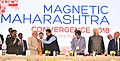 "The Prime Minister, Shri Narendra Modi at the Global Investors' Summit – ""Magnetic Maharashtra Convergence 2018"", in Mumbai, Maharashtra.jpg"