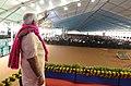 The Prime Minister, Shri Narendra Modi at the public meeting, in Dabhoi, Gujarat on September 17, 2017.jpg