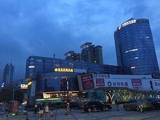 Dongcheng Subdistrict, Dongguan - The Shibo Square in Dongcheng substrict