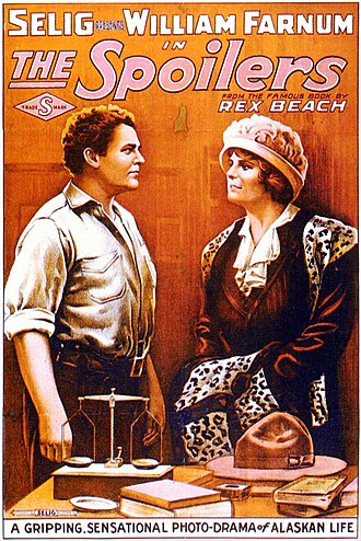 The Spoilers (1914 film) - Theatrical poster for The Spoilers