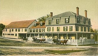 New Boston, New Hampshire - Image: The Tavern, New Boston, NH