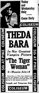 <i>The Tiger Woman</i> (1917 film) 1917 film