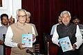 The Vice President, Shri Bhairon Singh Shekhawat and the Chief Minister of Bihar Shri Nitish Kumar releasing a commemorative booklet on Free Drug Distribution, in Patna, Bihar on April 21, 2007.jpg