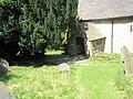 The church porch at St Edith, Eaton - geograph.org.uk - 1446260.jpg