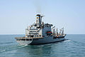 The fleet replenishment oiler USNS Pecos (T-AO 197) participates in Foal Eagle 2013 in the Yellow Sea March 15, 2013 130315-N-TG831-233.jpg