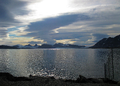The magic of Svalbard at daybreak - View of Ny Alesund in August 2011.png