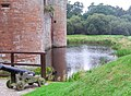 The moat at Caerlaverock Castle - geograph.org.uk - 1419752.jpg