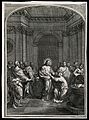 The risen Christ shows his lance wound to doubting Thomas. E Wellcome V0034834.jpg