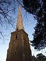The spire at Peterchurch - geograph.org.uk - 1758421.jpg