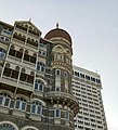 The taj mahal palace hotel and the Oberoi Trident Towers.jpg
