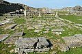 The trade district of the settlement with tabernae and a square paved with stone slabs, Histria, Moesia Inferior, Romania (28636947138).jpg