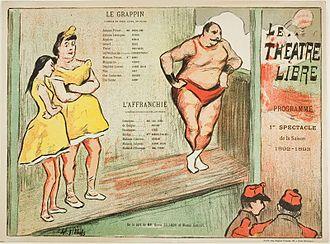 Théâtre Libre - First Performance: Le Grappin, l'Affranchie, for Le Théatre Libre, 1892–93