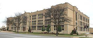 Theodore Roosevelt High School (Wyandotte) - Theodore Roosevelt High School