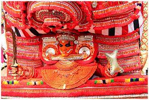 Theyyam - Thai Paradevatha Theyyam from Valliyottu Tharavadu