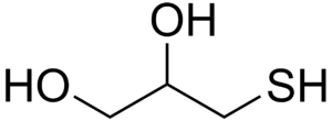 3-Mercaptopropane-1,2-diol - Image: Thioglycerol