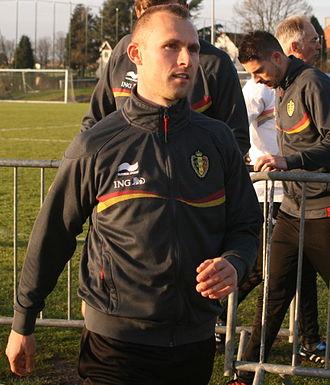 Thomas Buffel - Buffel in training with Belgium in 2006