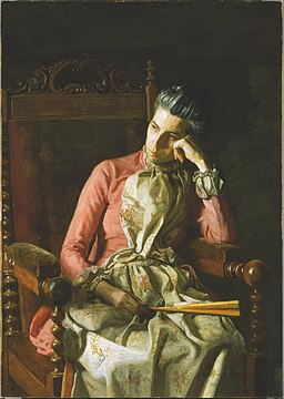 Thomas Eakins - Miss Amelia Van Buren - Google Art Project