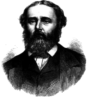 Thomas Ferrier Hamilton - Hamilton, as pictured in The Illustrated Australian News in 1873.